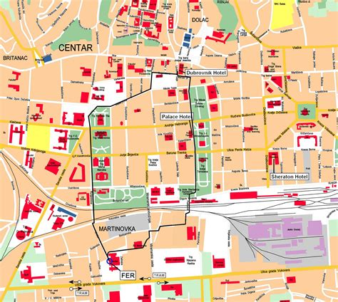 printable street map of zagreb large zagreb maps for free download and print high