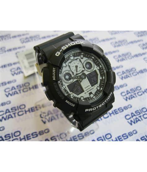 Casio G Shock Ga 100bw casio g shock ga 100bw 1aer