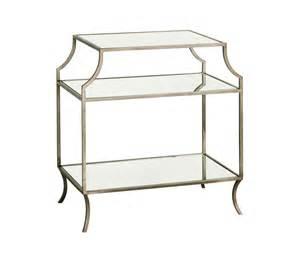 milla side table w shelf