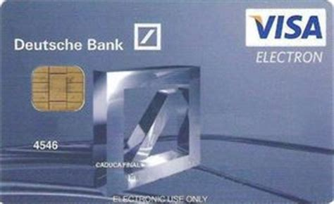 visa card deutsche bank bank card deutsche bank deutsche bank spain col es vi