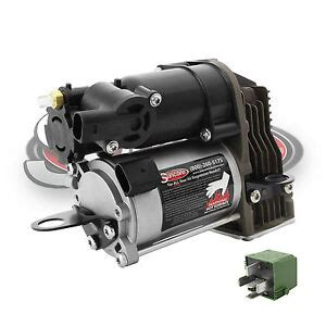 w221 air suspension compressor with relay new airmatic 2007 2013 mercedes s550