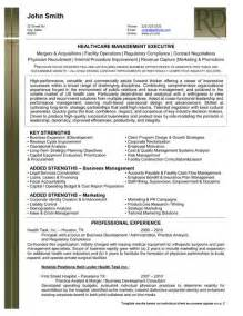 Resume Template For Healthcare Professionals by Resume Sles For Healthcare Professionals Recentresumes