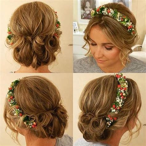 Bridesmaid Hairstyles For Curly Hair by 40 Irresistible Hairstyles For Brides And Bridesmaids