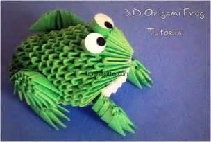 3d Origami Frog - 3d origami frog wallpaper