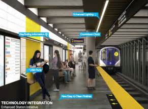 new nyc subway cars new high tech subway station and car designs unveiled by