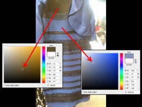 Is the dress white and gold or black and blue photoshop says both