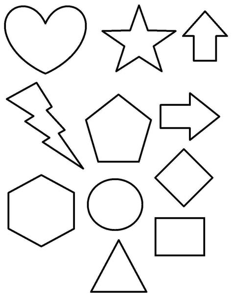 imagenes figuras geometricas para colorear dibujos geom 233 tricos para ni 241 os fotos dibujos foto