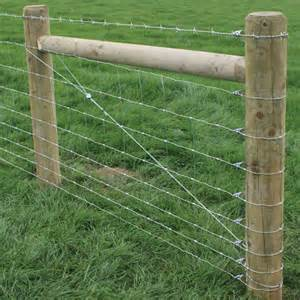 Types Of Garden Fencing Ideas - bracing