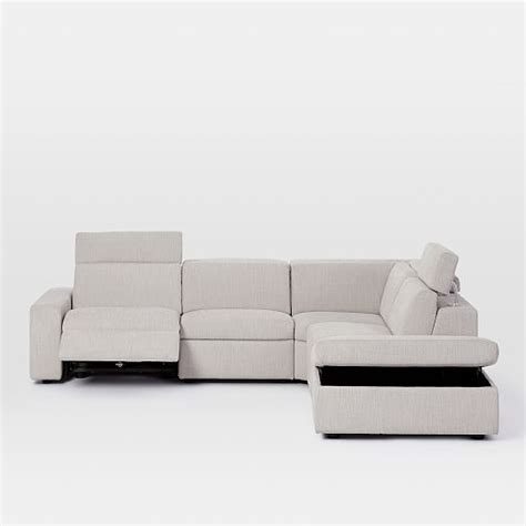west elm storage ottoman enzo reclining 4 seater sectional with storage ottoman