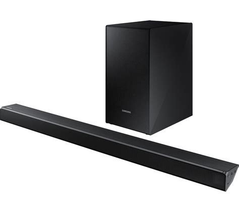 samsung 2 1 soundbar buy samsung hw n450 2 1 wireless sound bar free delivery currys