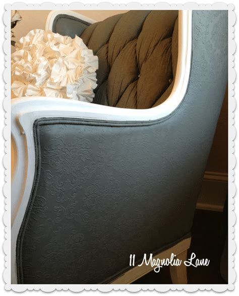 How To Paint Fabric Upholstery by Tutorial How To Paint Upholstery Fabric And Completely