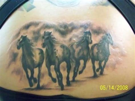 wild horse tattoo designs horseshoe images designs