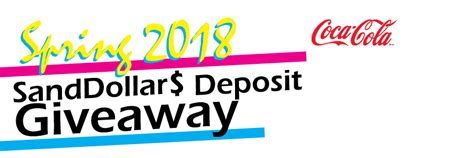 Barnes And Noble Tamucc by 2018 Sanddollar Deposit Giveaway A M
