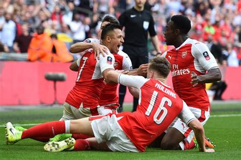 arsenal match result arsenal vs man city fa cup semi final highlights score