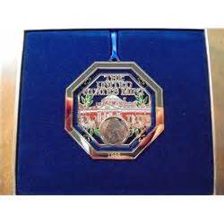 us mint christmas ornaments 1999 us mint ornament with jefferson nickel original us mint packaging