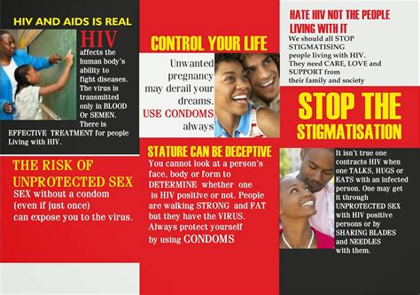 hiv brochures pdf best and various templates design