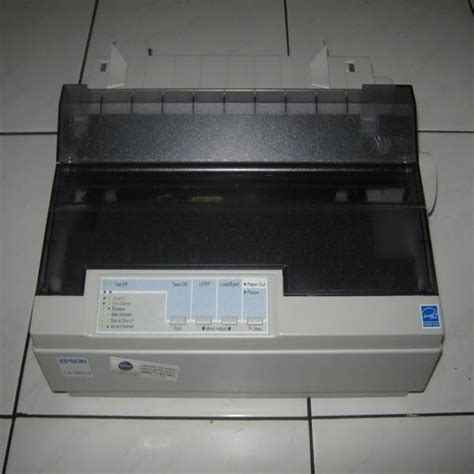 Printer Epson Lx 300 Ii jual printer bekas epson lx 300 lx 300 lx 300 ii lq 2170