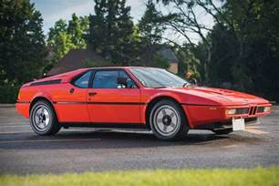 Bmw M1 1981 Bmw M1 Uncrate
