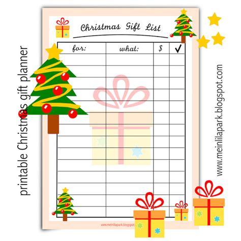 printable christmas card record book free printable christmas gift list ausdruckbare