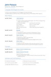 Apprentice Resume Apprentice Resume Sles Visualcv Resume Sles Database