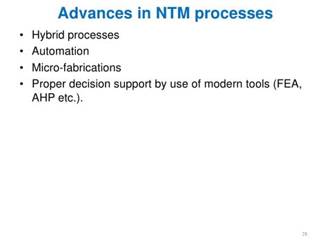 Hybrid Machining Processes Concept Classification Application Advantages Lecture 1 Introduction To Ntm Process