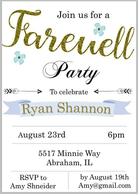 design of invitation card for farewell 30 free card designs free premium templates