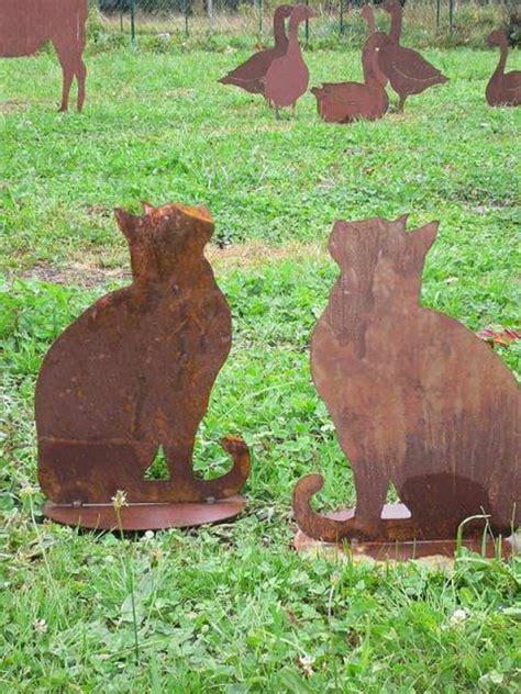 decoration de jardin animaux un objet en fer ou m 233 tal rouill 233 peut 234 tre la d 233 coration parfaite pour votre jardin
