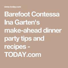 barefoot contessa make ahead meals vermont ina garten and garten on pinterest