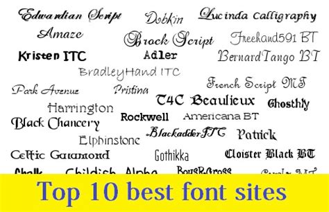 best free fonts for websites where to free fonts top 10 best font