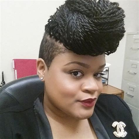 micro braids with shaved sides braided updo w shaved sides braids senegalesetwists
