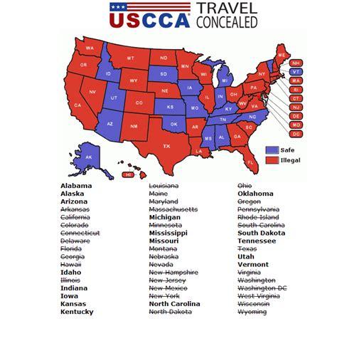 texas concealed handgun reciprocity map illinois ccw reciprocity map kelloggrealtyinc
