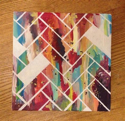 pattern canvas art 25 best ideas about easy abstract art on pinterest