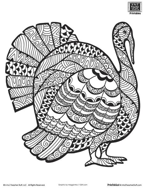 thanksgiving coloring pages for older students advanced coloring page for older students or adults