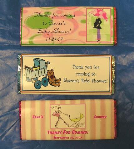 Baby Shower Chocolate Bars by Custom Baby Shower Chocolate Bars Personalized Chocolate