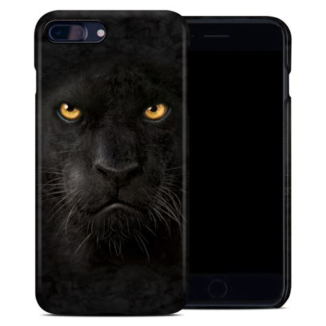 apple iphone   clip case black panther