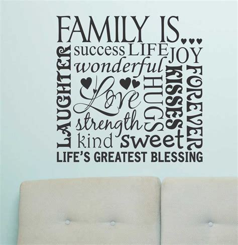 frames with vinyl family sayings the 25 best word collage ideas on silhouette