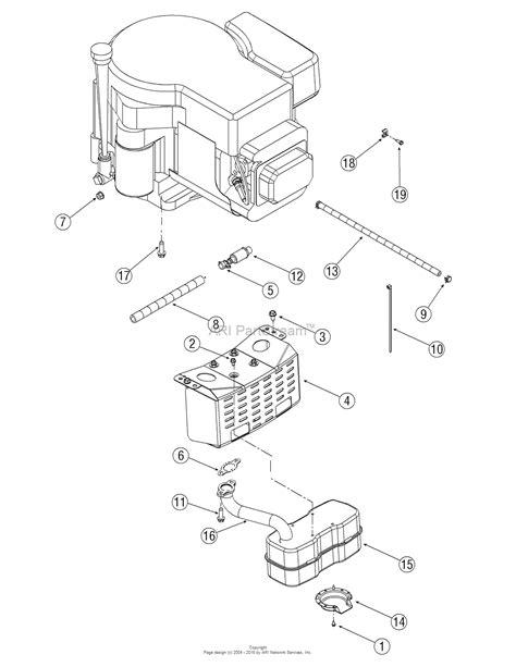 yard machine mower parts diagram mtd 13an601h729 2006 parts diagram for engine accessories