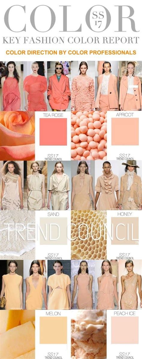 2017 fashion color trends trend council ss 2017 color fashion vignette