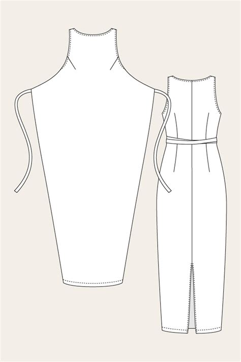 clothes pattern download free named clothing 07 035 kielo wrap dress downloadable pattern