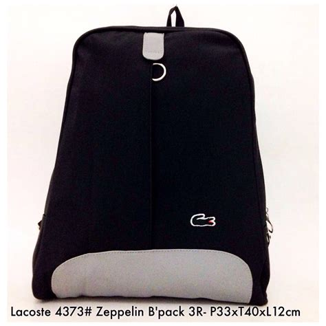Tas Wanita Import Lacoste Zeppelin Backpack 3r 4373 8 tas wanita import fashion zeppelin backpack 3r 4373 6 elevenia