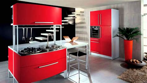 Kitchen Cabinets Red And White for free red style kitchen design pictures for free red