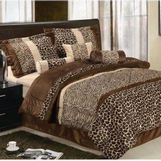 leopard bedroom set tiger leopard safari animal print king size bed comforter set