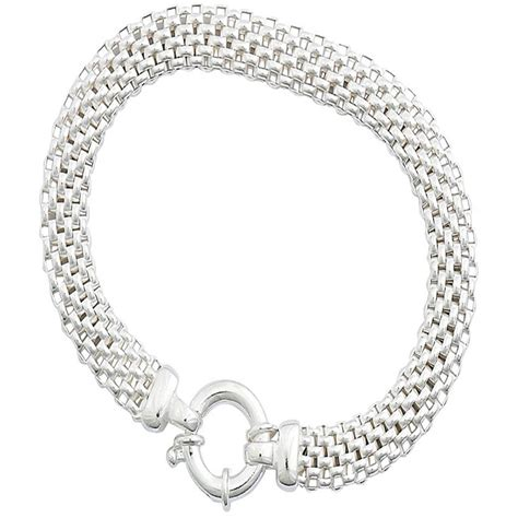 Sterling Silver Mesh Bracelet   Silver Bracelets   Jewelry & Watches   Shop The Exchange