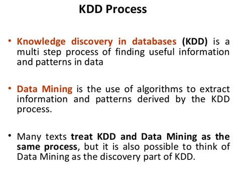 pattern or meaningful unit of information unit 3 part i data mining
