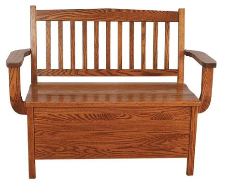 storage bench with back low back mission storage bench from dutchcrafters amish