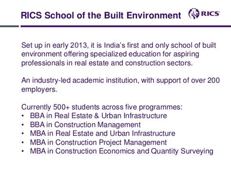 Mba In Infrastructure And Construction Management by Adapting Your Standards And Qualifications Locally