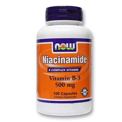 Niacinamide Detox by Now Foods Niacinamide 500 Mg 100 Caps Evitamins