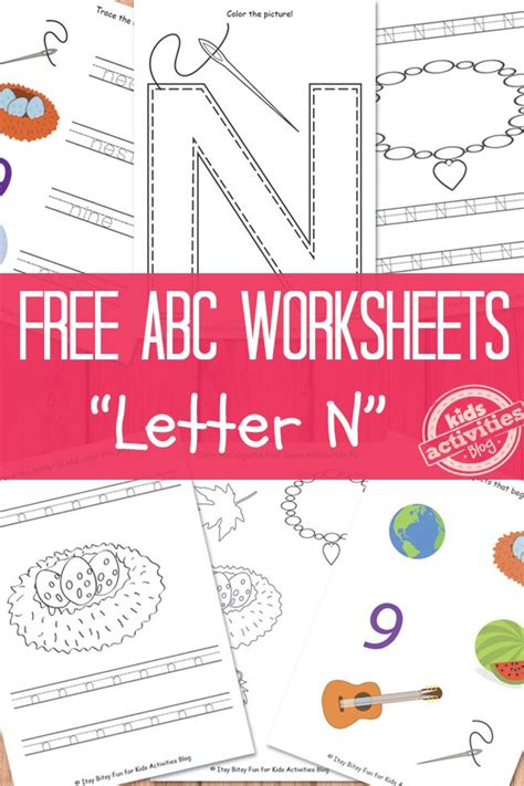 printable preschool games activities 53 best images about n is for alphabet on pinterest