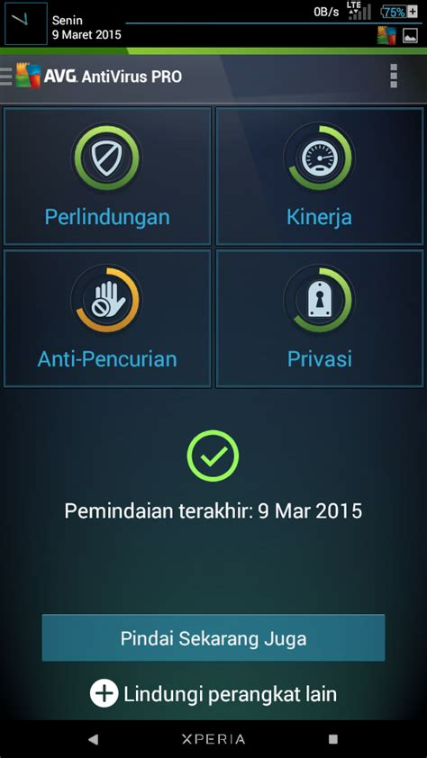 antivirus pro apk avg antivirus pro v4 3 2 apk android free