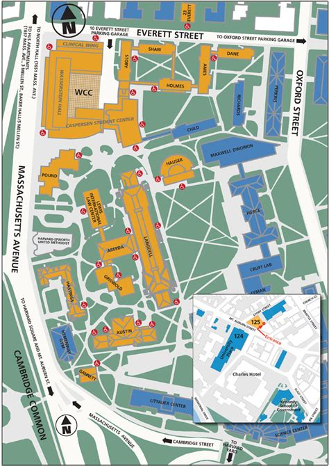 harvard map cus map and directions harvard school